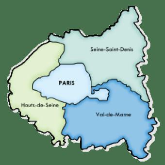 Saint-Denis en France