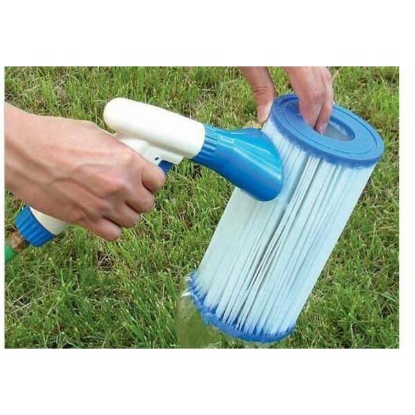 Comment nettoyer un filtre  cartouche de piscine