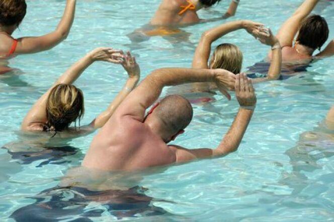 Pratiquez de laquagym dans votre piscine