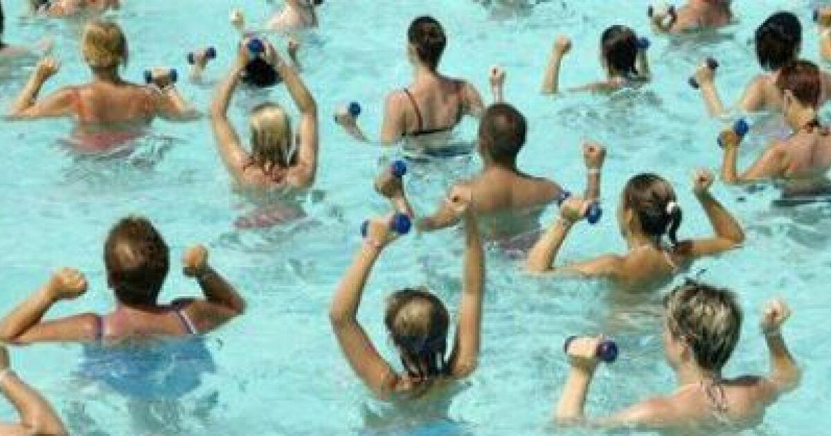 Les cours aquagym  des exercices  la porte de tous