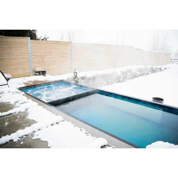 Une piscine  partir dun containermais aussi un spa