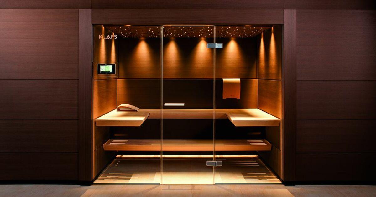 Un sauna design  le luxe adapt  votre intrieur