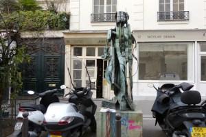 statue Venus Aphrodite rDE ARMAN R J CALLOT callot