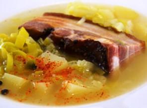 soupe au lard lorraine