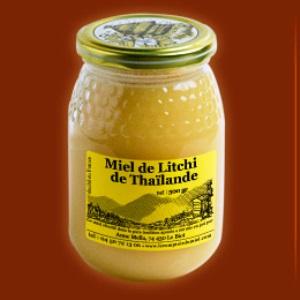 Miel de litchi de Thaïlande