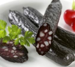 Schwarzwurscht ou saucisse noire