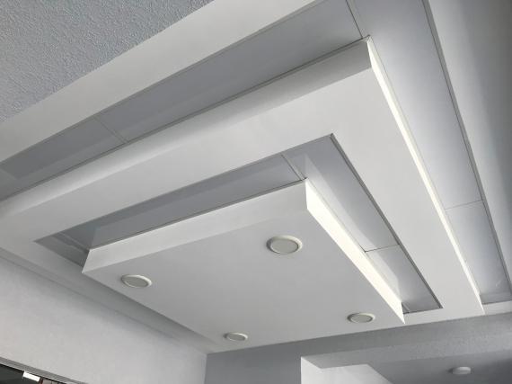 plafond suspendue