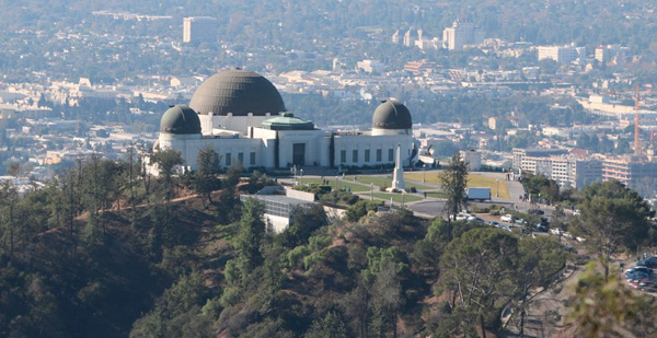 Griffith Observatory - Griffith Park - Dantes View