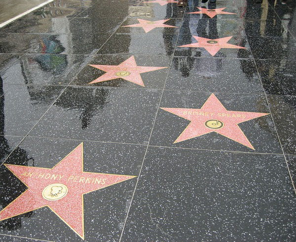 Hollywood Boulevard Stars