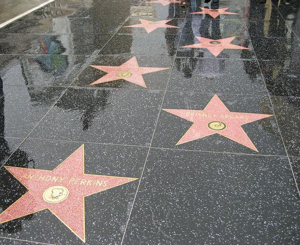 Hollywood Boulevard Stars