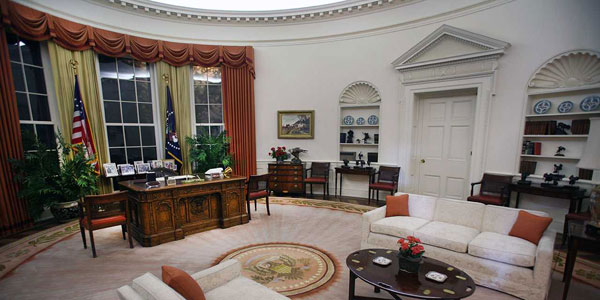 Ronald Reagan Museum Oval Office