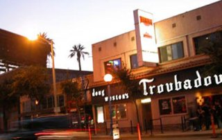 The Troubadour - Sunset Strip, LA