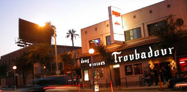 The Troubadour - Sunset Strip, LA