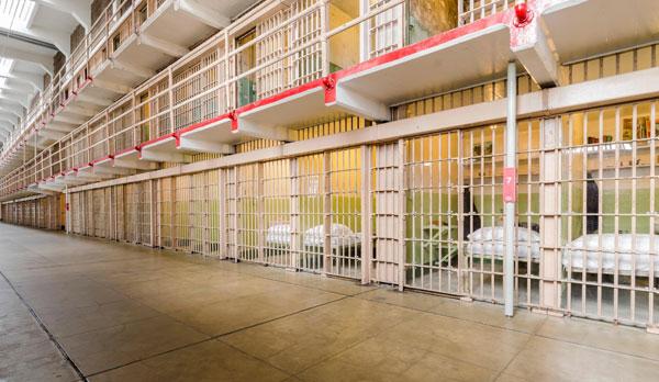 Alcatraz fængselsceller