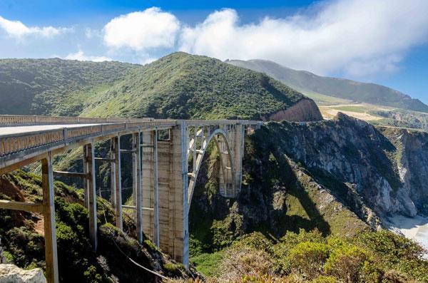 Californien bro udsigt