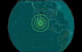 Earth Quake Sensor California