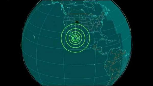 Earth Quake Sensor California