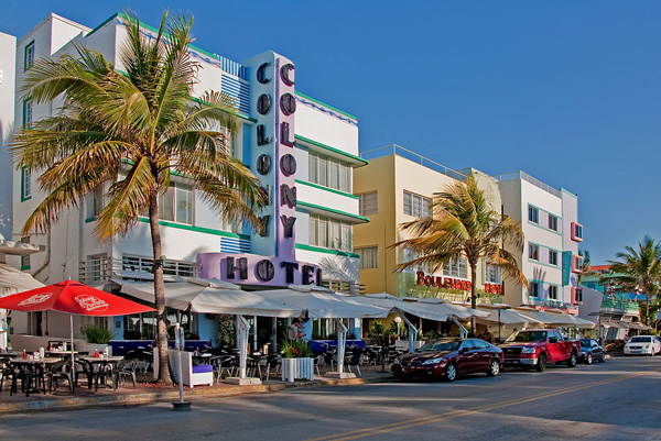 Colony Hotel Ocean Drive Miami