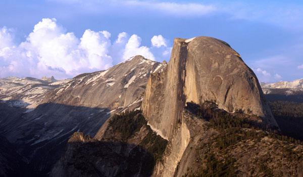 Half Dome udsigt Glacier Point