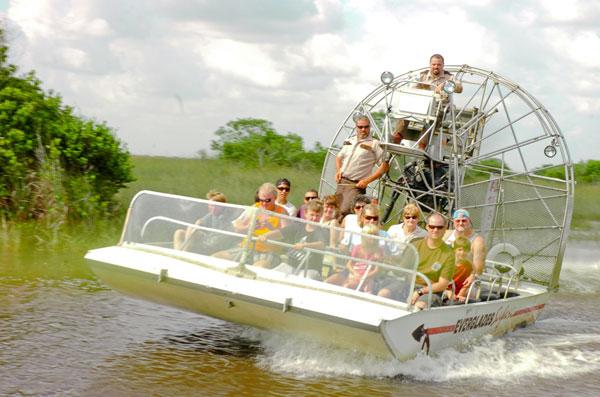 Airboat tur Everglades