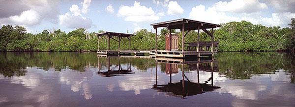 Chickee camp site Everglades-Nationalpark