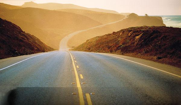 Roadtrip Californien vej