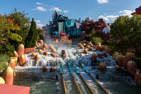 Dudley Do Rights Ripsaw Falls