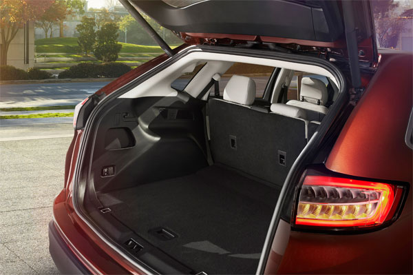 Ford Edge SUV bagageplads