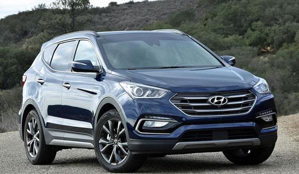 Hyundai Santa Fe SUV Rental