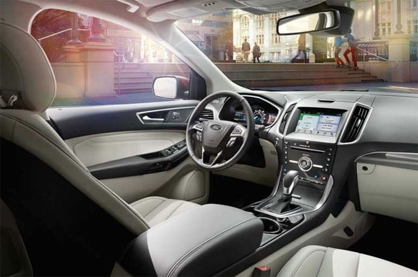 Interior Ford Edge picture