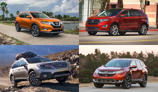 Mest solgte SUV modeller USA