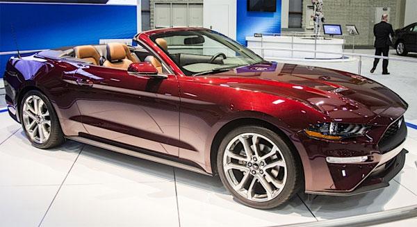 Mustang Crimson