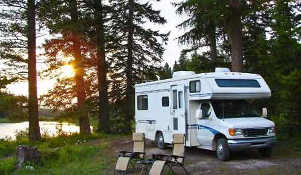 gratis overnatning i autocamper i USA