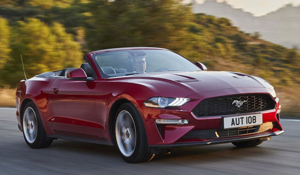 Rent A Mustang Convertible