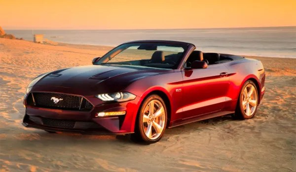 Rent Mustang Cabriolet California