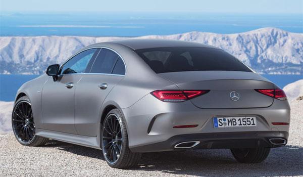 Mercedes CLS LA Auto Show