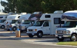 Udlejere af autocampere i USA