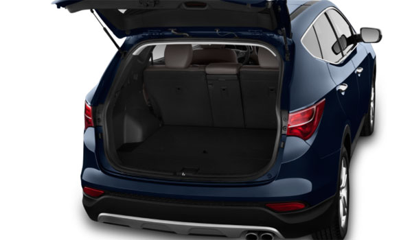 Hyundai Santa Fe bagageplads