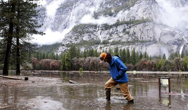 Yosemite åben igen efter oversvømmelser