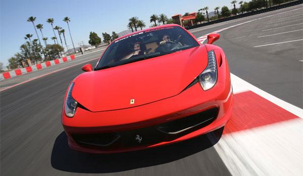Lej Ferrari Las Vegas