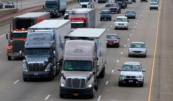 Lastbiler i USA