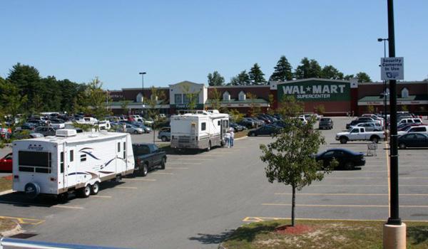 Walmart parkering