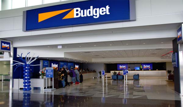 Budget Biludlejning kontor USA