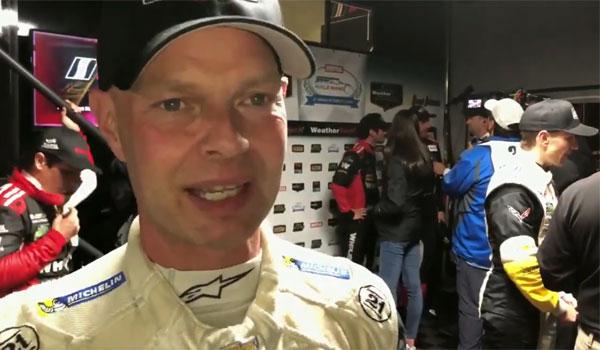 Jan Magnussen IMSA GTLM USA