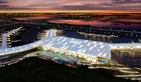New JFK Airport New York