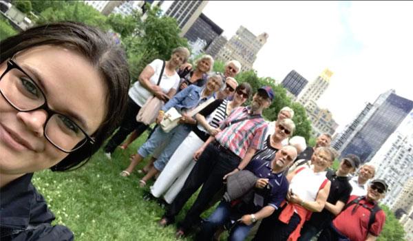 Maria Leena Kerr - dansk guide New York