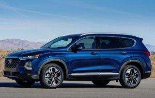 Hyundai Santa Fe 2019 udlejningsbil