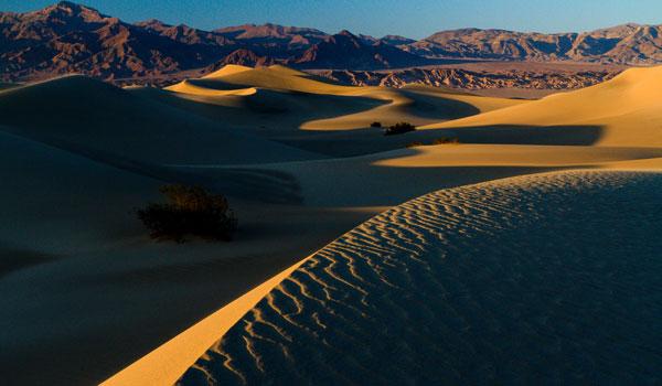 Death Valley sandbanker