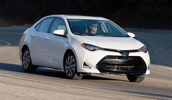 Toyota Corolla rental car