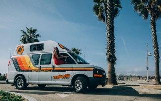 Ny campervan udlejer i USA
